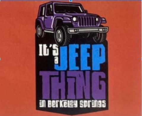 jeep event coming soon in berkeley springs