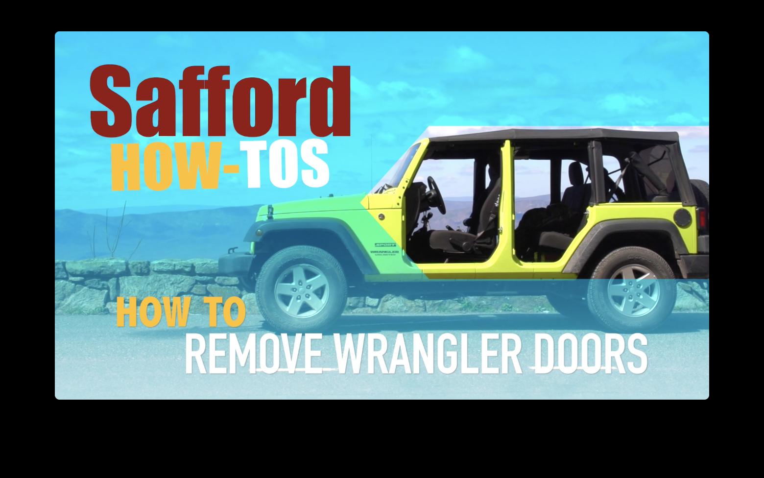 How to Remove Wrangler Doors