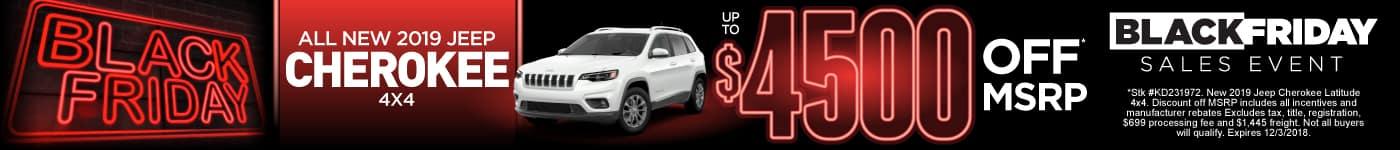 Jeep Cherokee Special