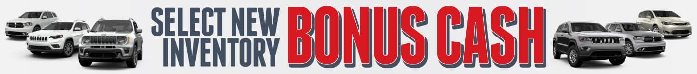 Bonus Cash Special