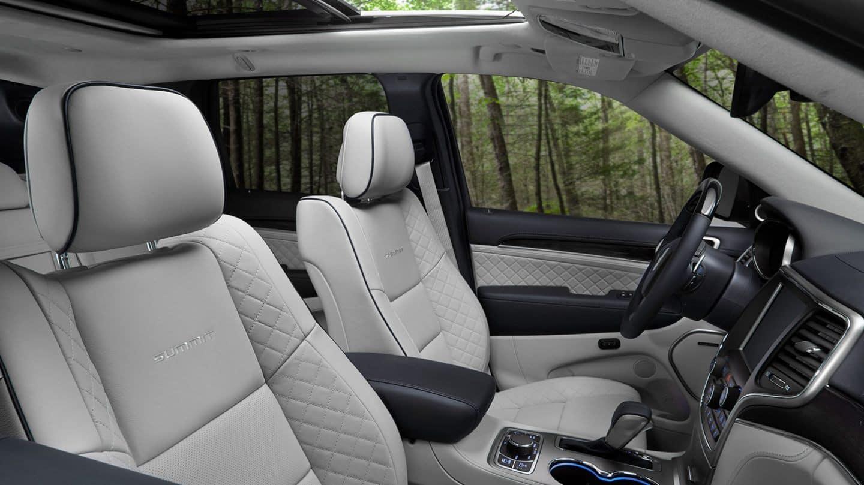 2020 Jeep Grand Cherokee interior available in Springfield VA