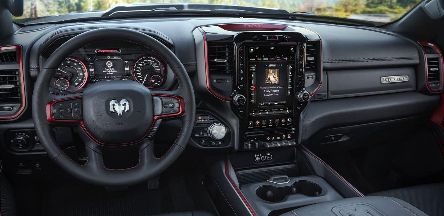 2020 Ram 1500 interior available in Springfield VA
