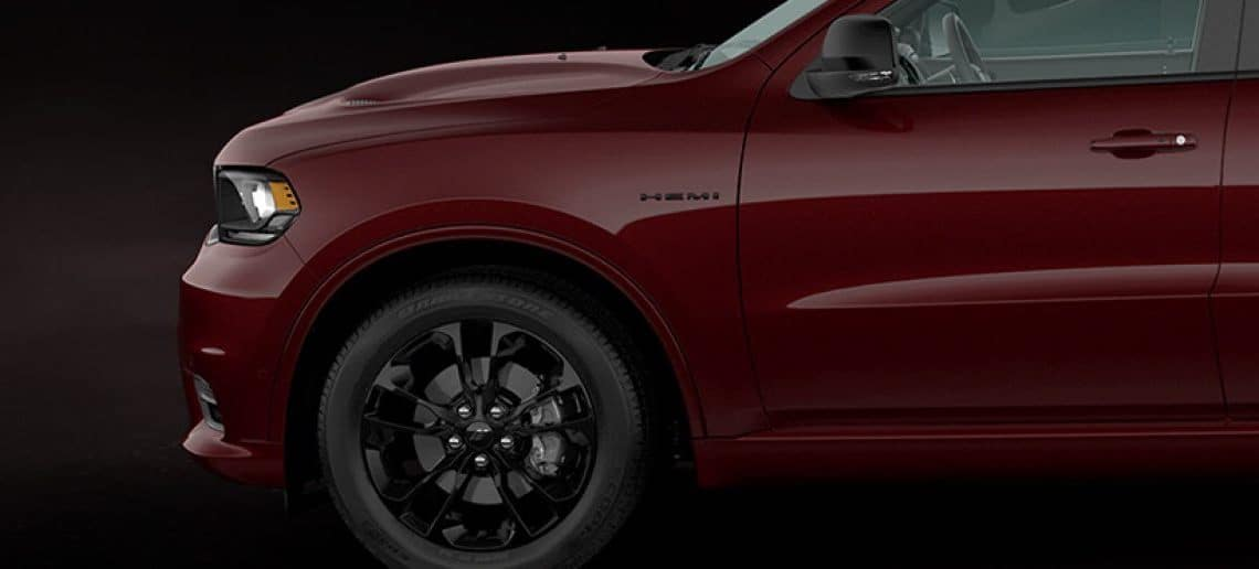 DODGE DURANGO BLACKTOP® PACKAGE