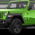 Lime Green 2019 Wrangler