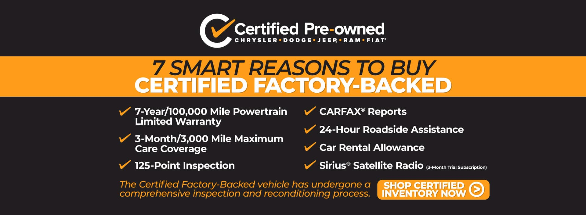 7 Smart Reasons to Buy Certified Factory-Backed - Shop CPO Inventory Now
