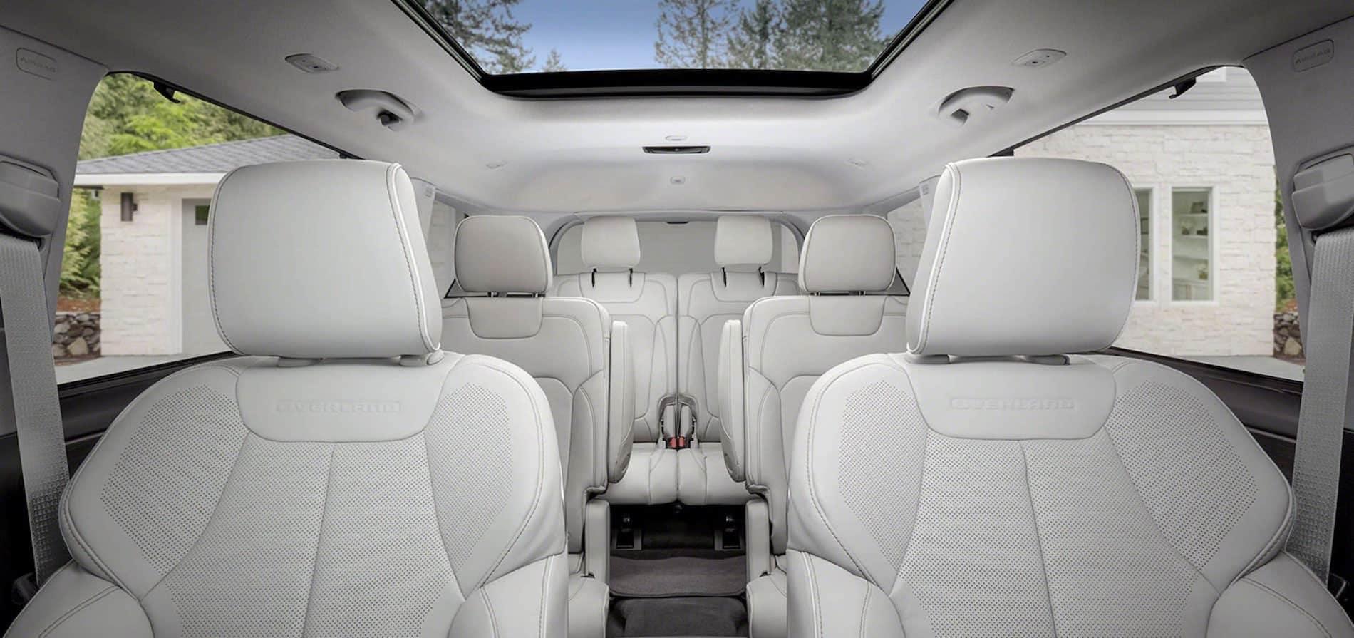 2021 Jeep Grande Cherokee L Interior available in Springfield VA