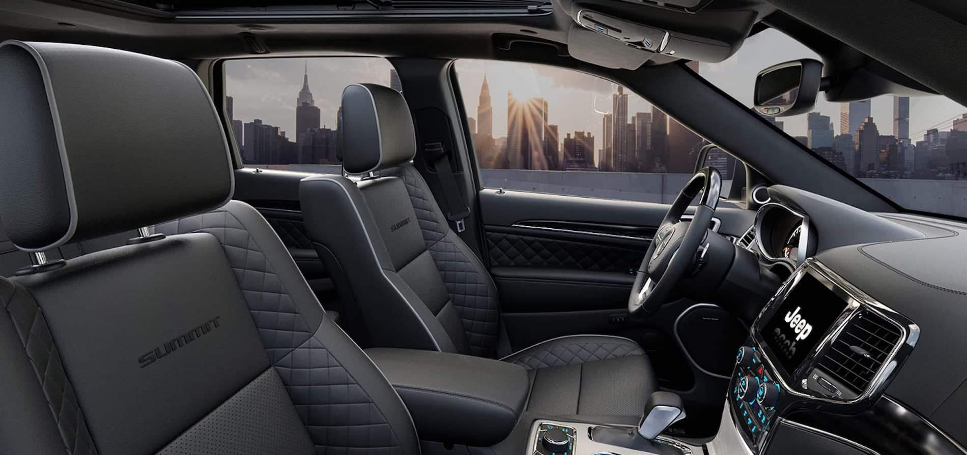 2021 Jeep Grande Cherokee Interior available in Springfield VA
