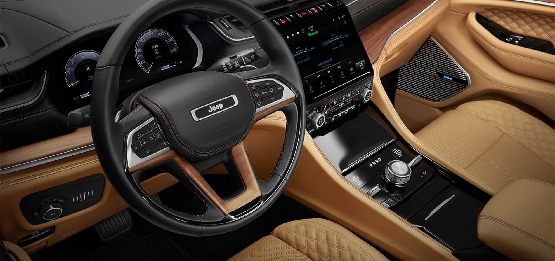 2021 Jeep Grand Cherokee L Technology Features available in Springfield VA