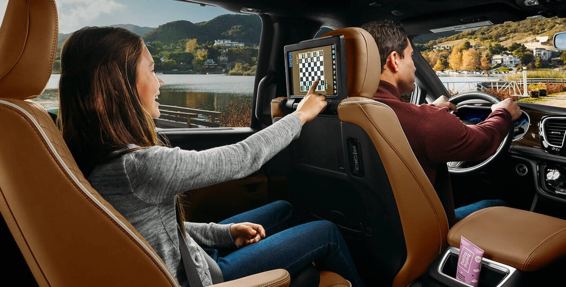 2021 Pacifica backseat Technology available in Springfield VA