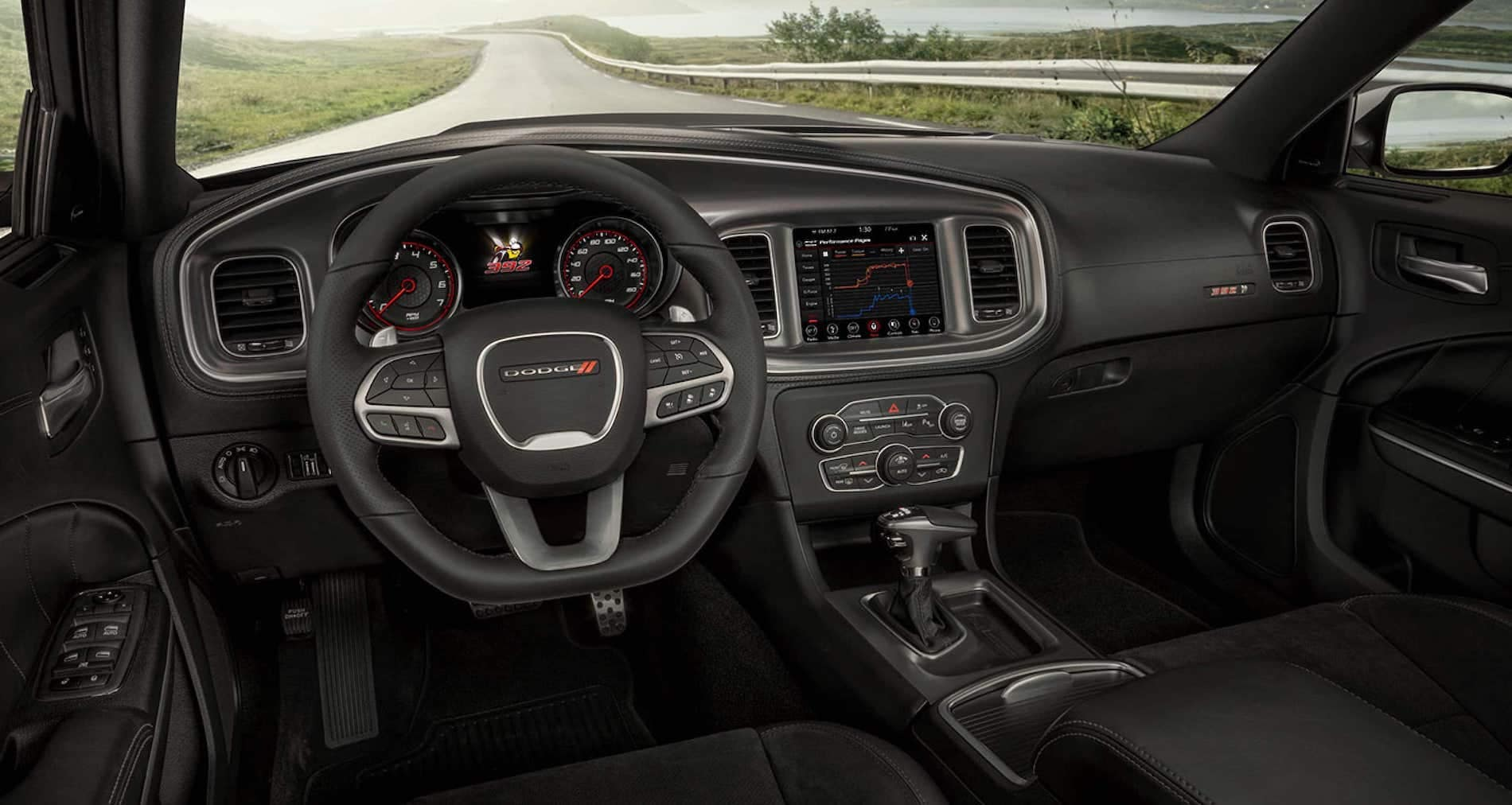 Interior changes to the 2021 Dodge Charger