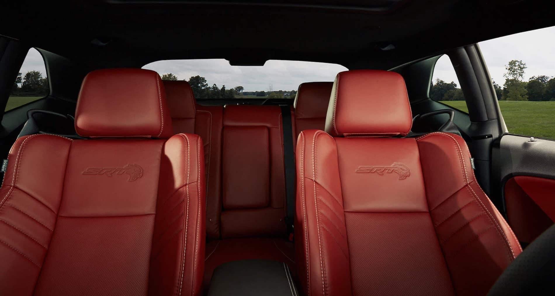 Dodge Challenger SRT interior overview