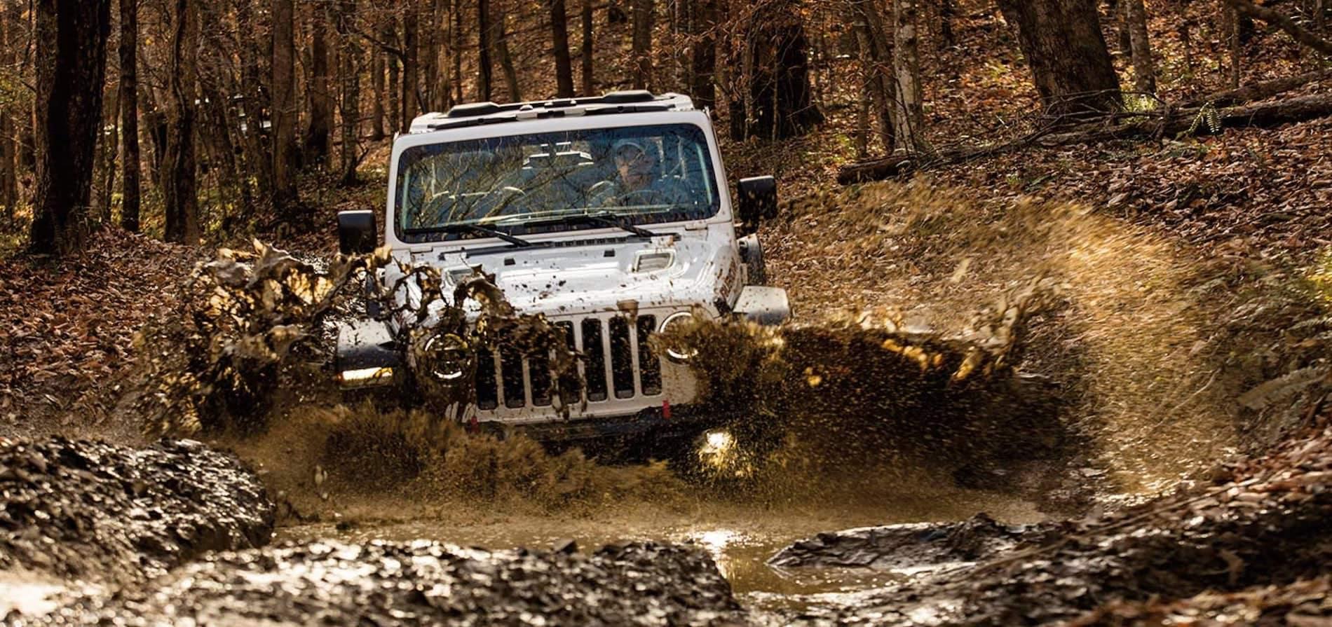2021 Jeep Wrangler Capabilities in the mud