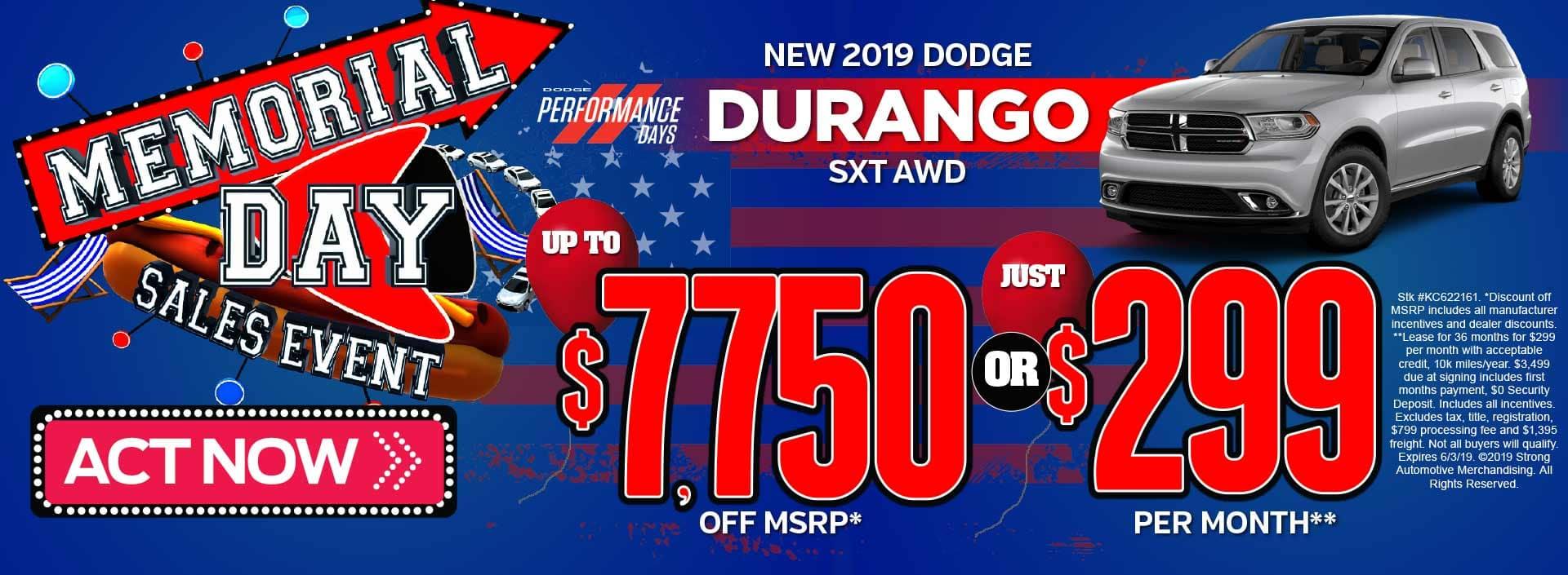 Durango Offer