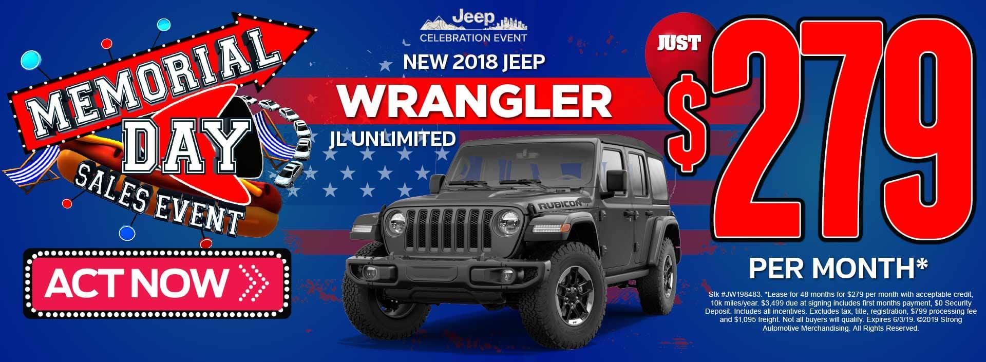 Wrangler offer