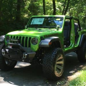 Customer Lifted Jeep in Warrenton