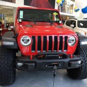 Jeep Wrangler JL Bumper and Winch