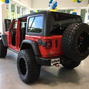 Drive Side without doors Wrangler JL