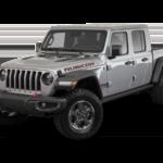 A gray 2020 Jeep Gladiator