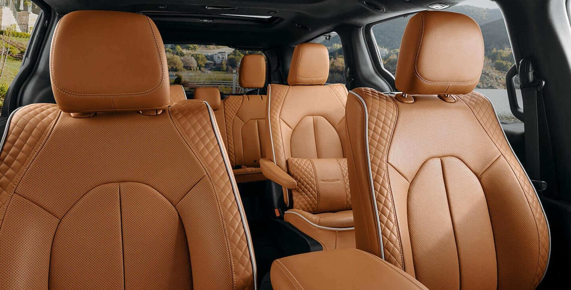 2021 Pacifica Brown leather interior in Warrenton, VA