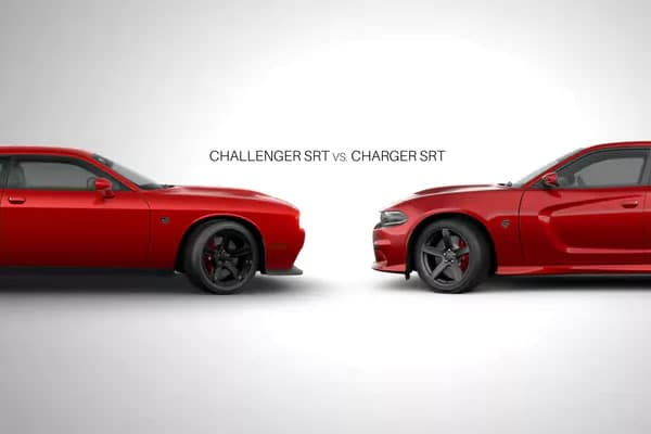 Charger Vs Challenger >> Dodge Muscle 2017 Charger Srt Vs 2017 Challenger Srt