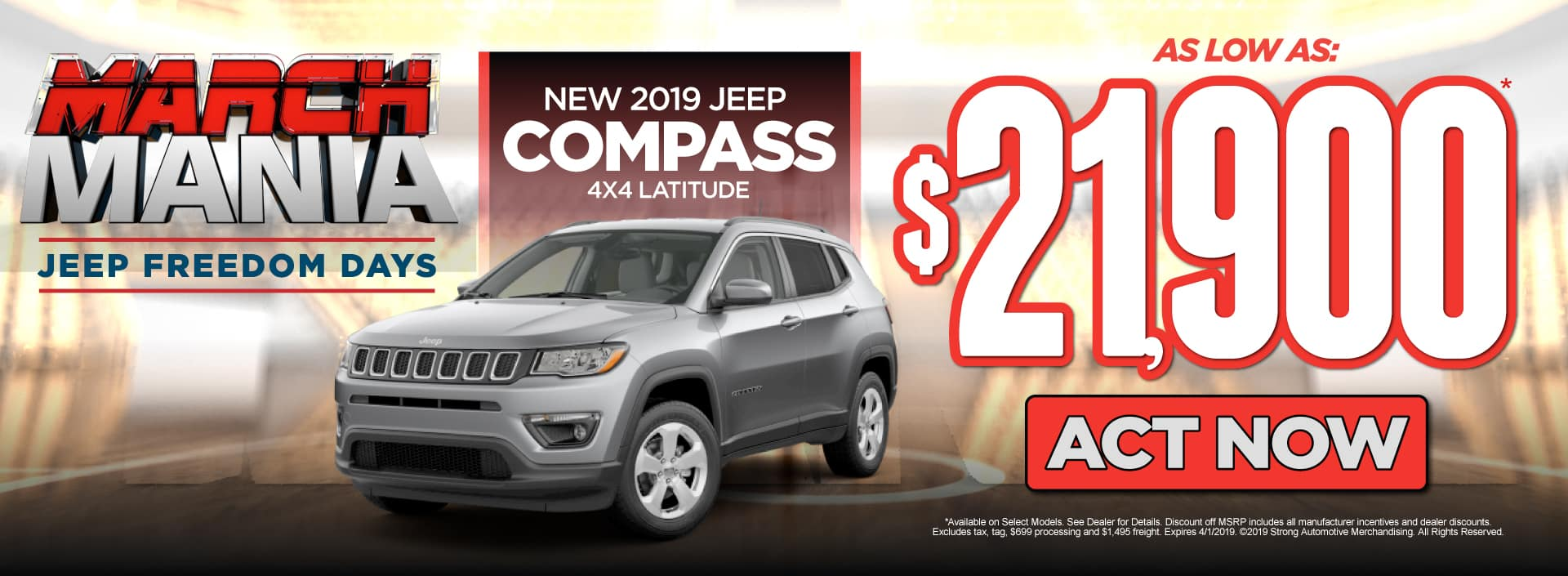 jeep compass offer