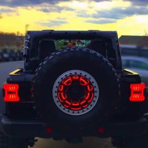 Wrangler JL rear brake light option