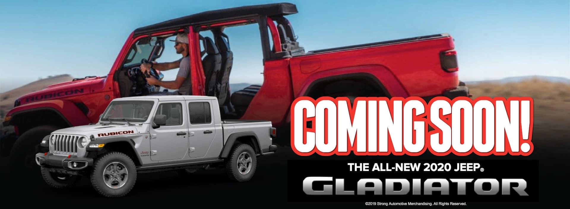 jeep gladiator - coming soon