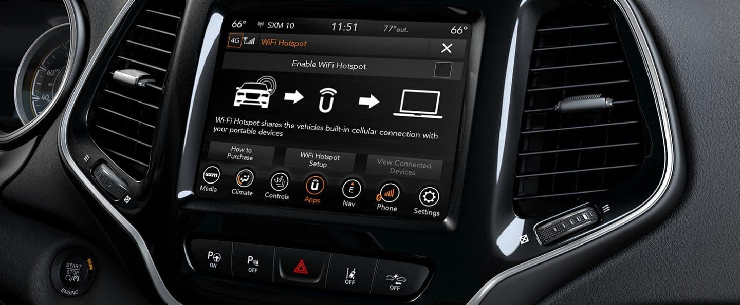 2020 Jeep Cherokee Technology available in Winchester VA