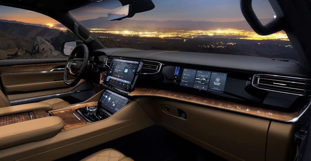 Grand Wagoneer Tech Features