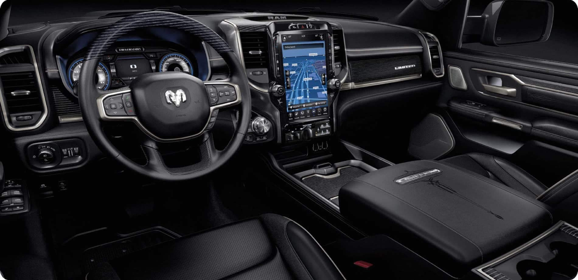 2021 Ram 1500 Interior Infotainment System available in Winchester, VA