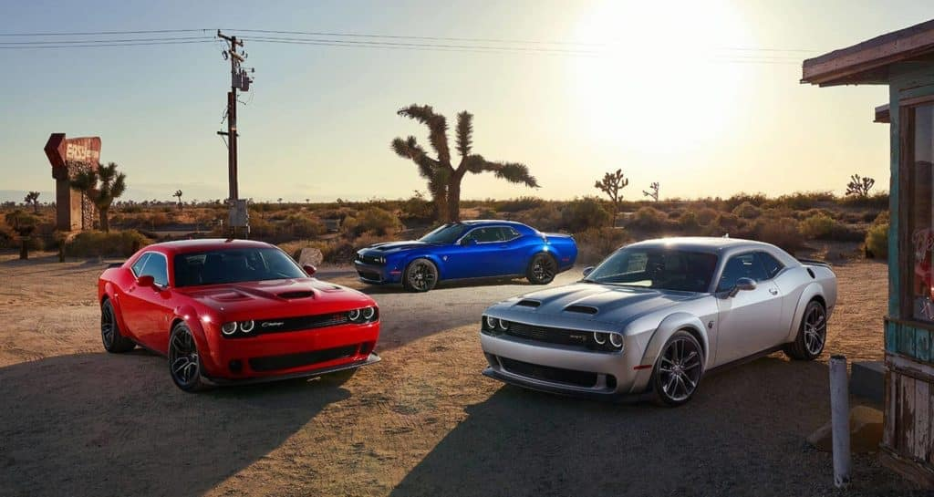 technology features in the 2021 Dodge Challenger