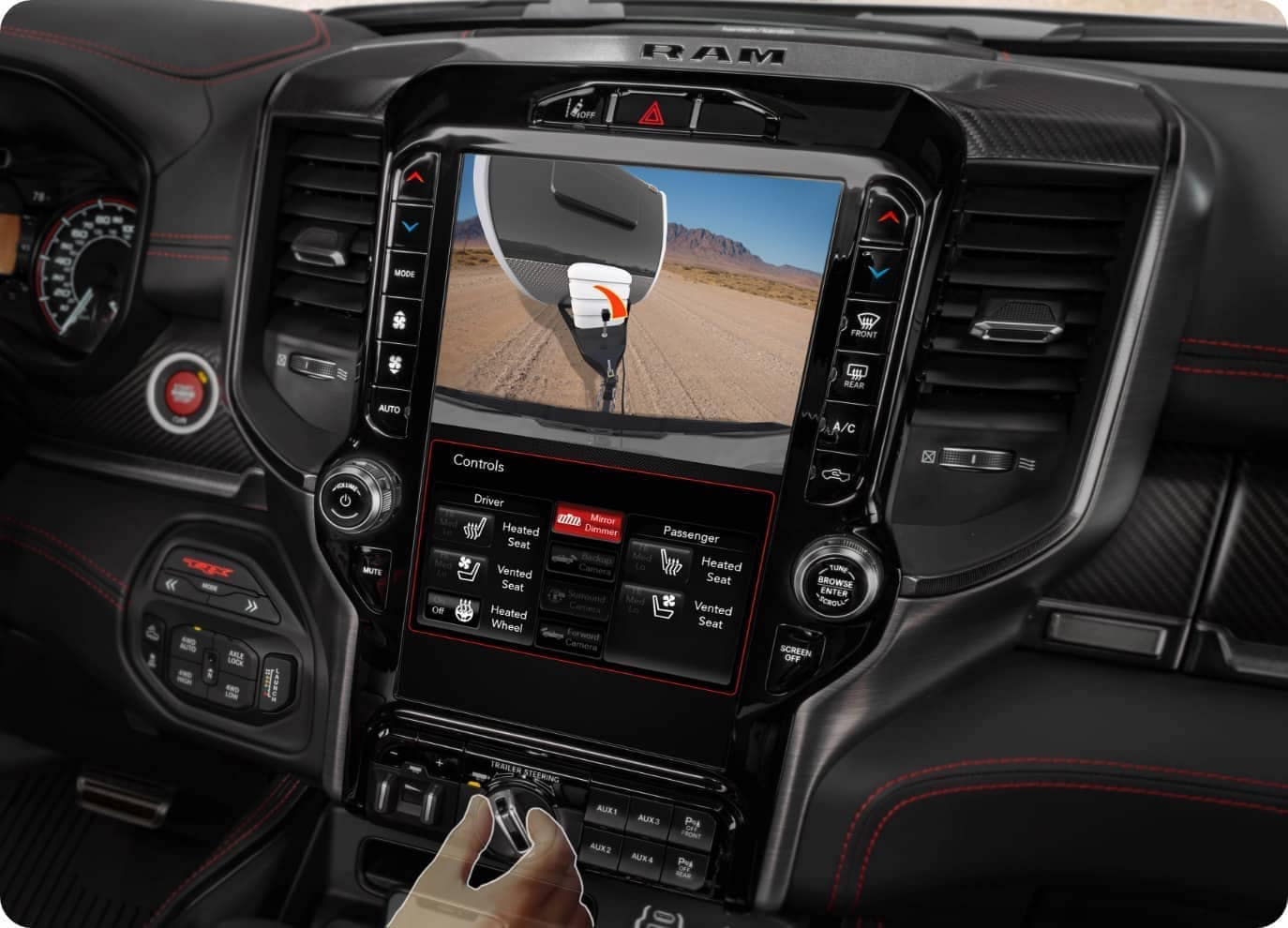 2021 Ram 1500 Technology available in Winchester