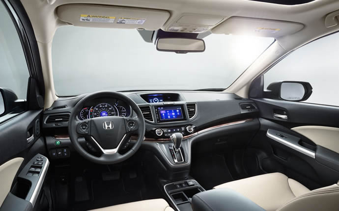The 2015 Honda CR-V Interior Offers Comfort and Convenience