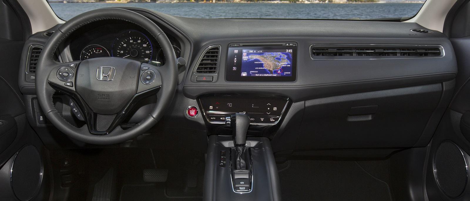 2016 HR-V spacious interior