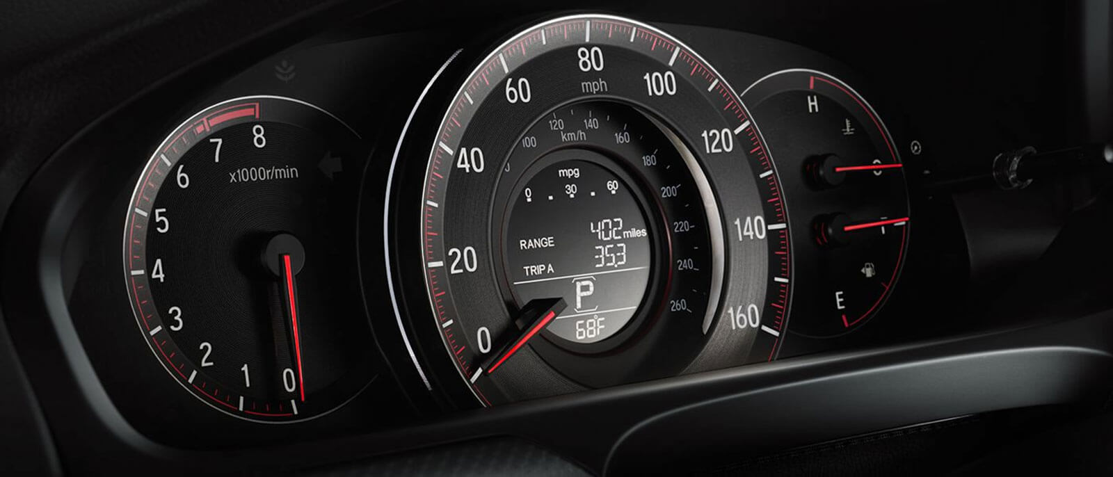 2017 Honda Accord Coupe instrument panel