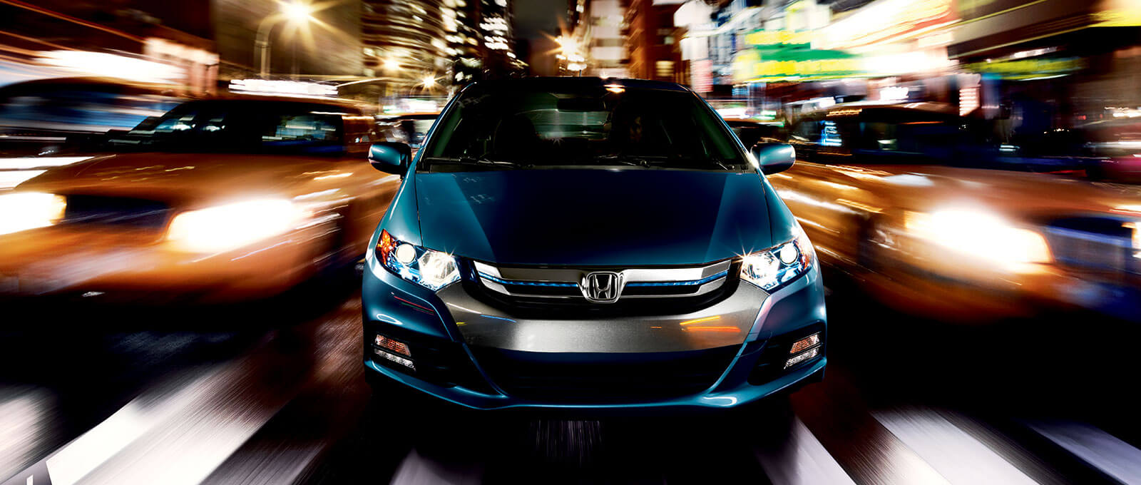 2014 Honda Insight front view