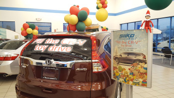 Toys For Tots Trunk Car