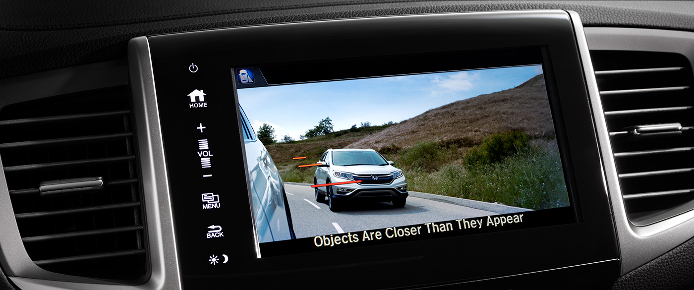 Honda LaneWatch Camera Display