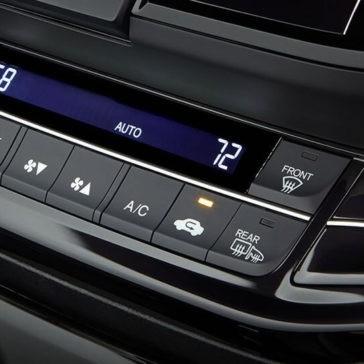 2017 Accord Sedan Coupe Climate Control