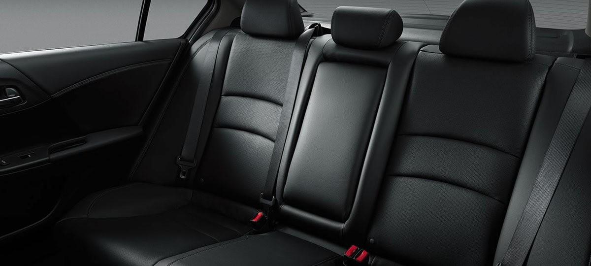 2017 Accord Sedan Touring Black Leather Interior