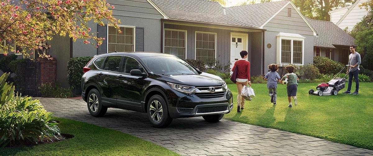 2017 Honda CR-V LX in Driveway