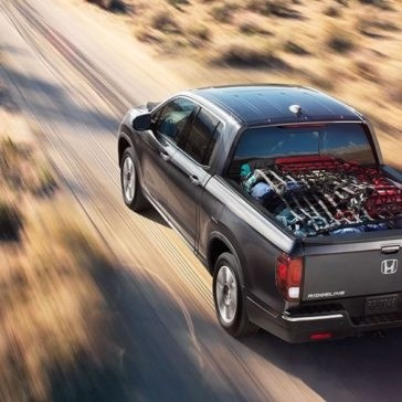 2017 Honda Ridgeline RTL on Desert Road