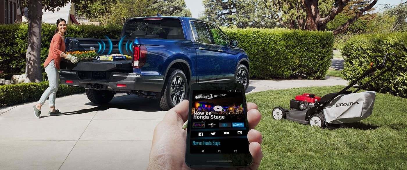 2017 Honda Ridgeline Phone App