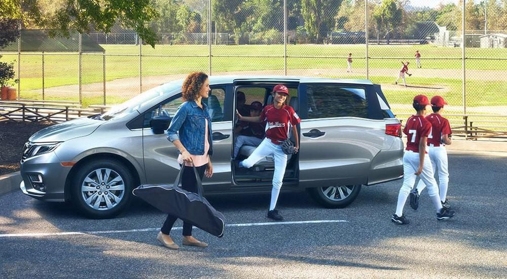2018 Honda Odyssey Baseball Game