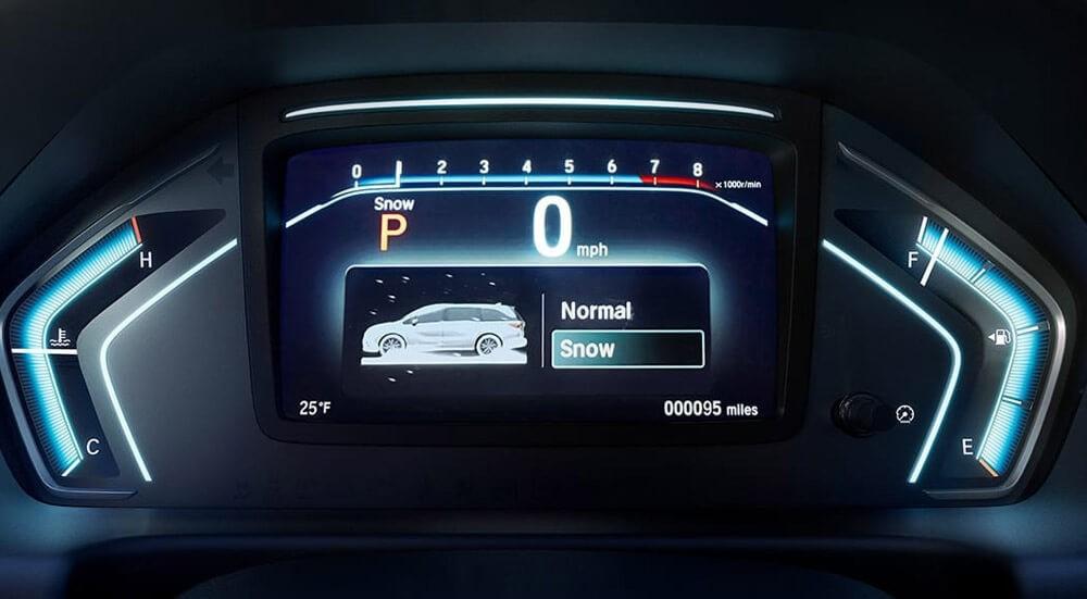2018 Honda Odyssey Snow Mode