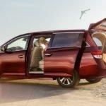 2016 Honda Odyssey Minivan Trunk Space