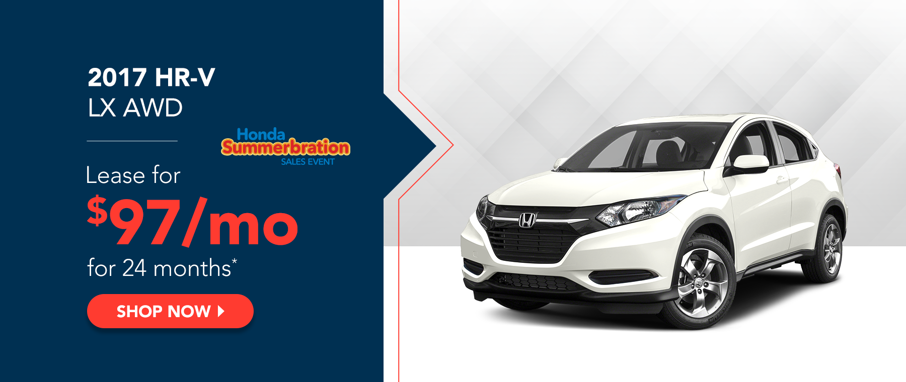 2017 HR-V LX AWD - Honda Summerbration Sales Event