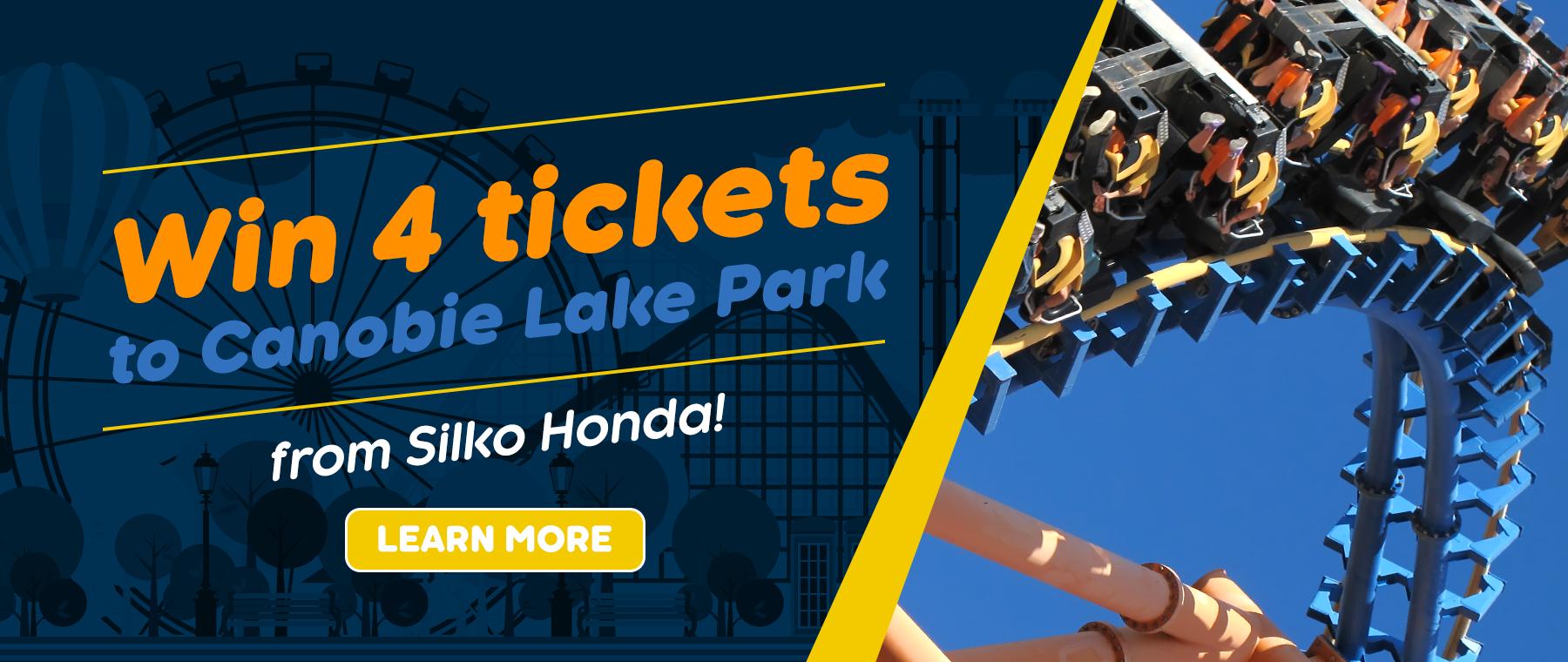 Silko Honda - Win 4 Tickets to Canobie Lake Park