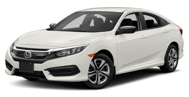 2017 Honda Civic White