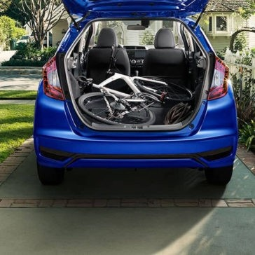2018 Honda Fit Cargo Space With Bike